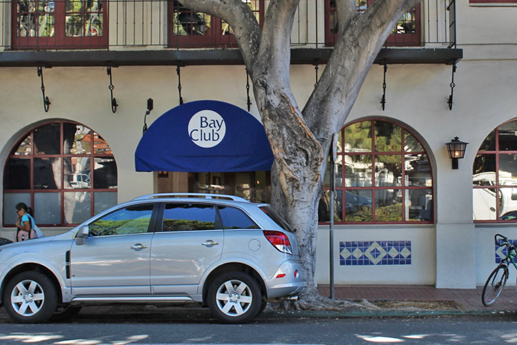 Gold's Gym acquired three Santa Barbara-area locations of The Bay Club, including this facility at 21 W. Carrillo St.