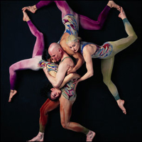 What Pilobolus does might not be thought of as dance, but it's definitely art.