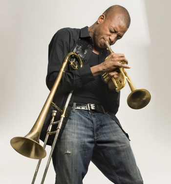 Troy Trombone Shorty Andrews hails from the Tremé, so he knows what he's doing.