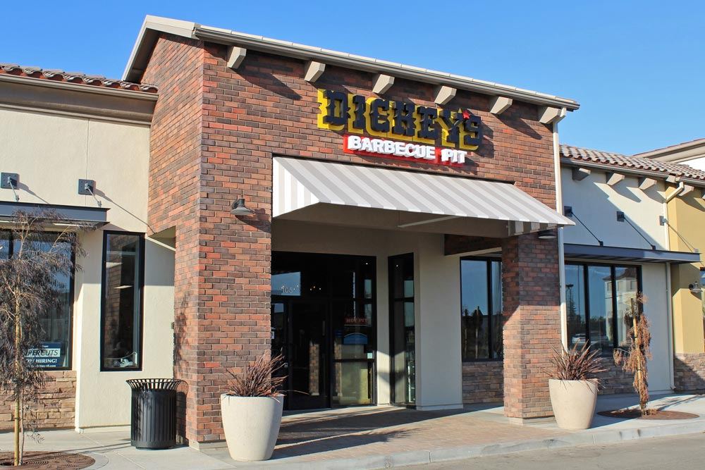 Dickey's Barbecue Pit in Hollister Village is the chain's second restaurant in Santa Barbara County after one in Santa Maria.