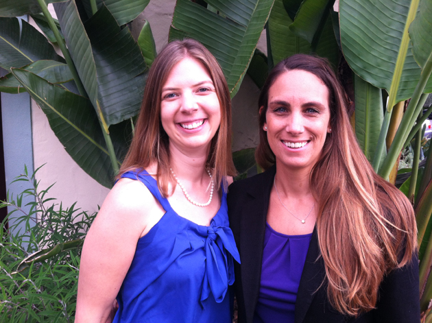 <p>Stefanie Herrington, left, and Michelle Perry will co-chair &#8220;An Evening in Bloom,&#8221; Girls Inc. of Carpinteria&#8217;s annual fall fundraiser.</p>