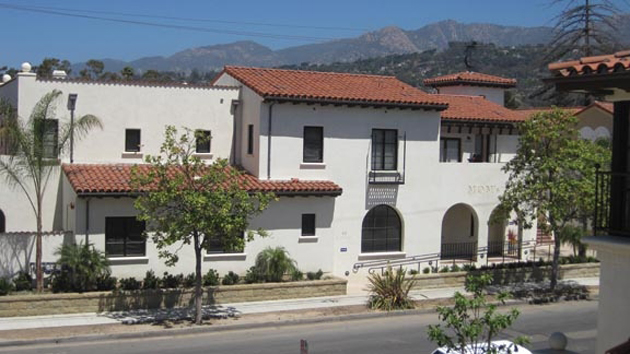 Mom's, Transition House's new affordable housing complex at 421 E. Cota St. in Santa Barbara, features eight residential units and an expanded licensed infant-care center. (Transition House photo)