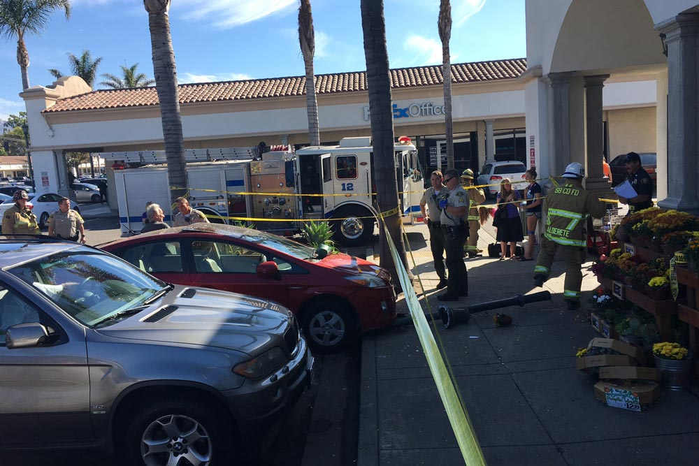 Shopper Suffers Major Injuries after Car Drives into Goleta Trader ...
