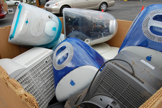 Computers and other electronics will be accepted Friday and Saturday at a city-sponsored e-waste collection event. (City of Santa Barbara photo)