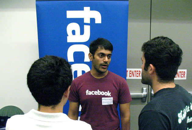 Facebook was among the companies represented at UCSB's Fall Career Fair on Tuesday. (UCSB photo)