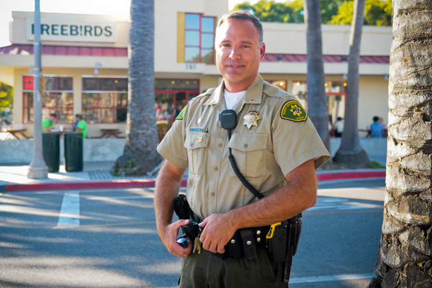 Isla Vista residents have asked the Sheriff's Department to keep Lt. Rob Plastino at his Foot Patrol station commander position.