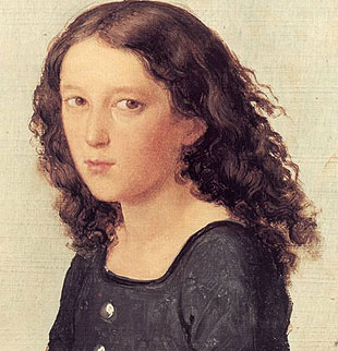 Felix Mendelssohn at 12, about the age when he started some serious composing.