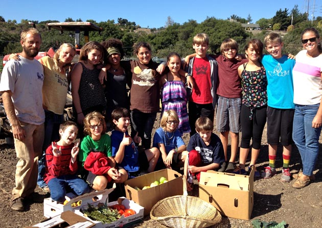 <p>Santa Barbara Middle School sixth-graders visit Ellwood Canyon Farms in Goleta, where they gathered herbs to dry, pumpkins and squash to puree, apples and persimmons to dry, and mixed together dry oats, nuts and honey to make granola in preparation for their bike expedition to Monterey Bay next week.</p>