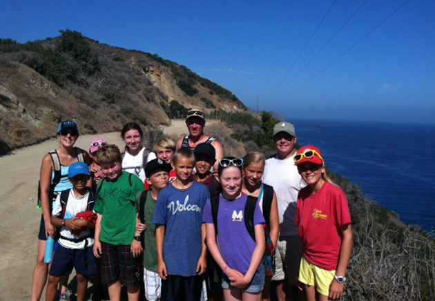 Marymount of Santa Barbara sixth-graders explore experimental sciences and native sea environments during a recent trip to the Catalina Island Marine Institute. (Marymount of Santa Barbara photo)