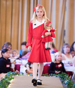 The Junior League of Santa Barbara's American Girl Fashion Show will feature more than 100 local girls and matching dolls. (Junior League of Santa Barbara photo)