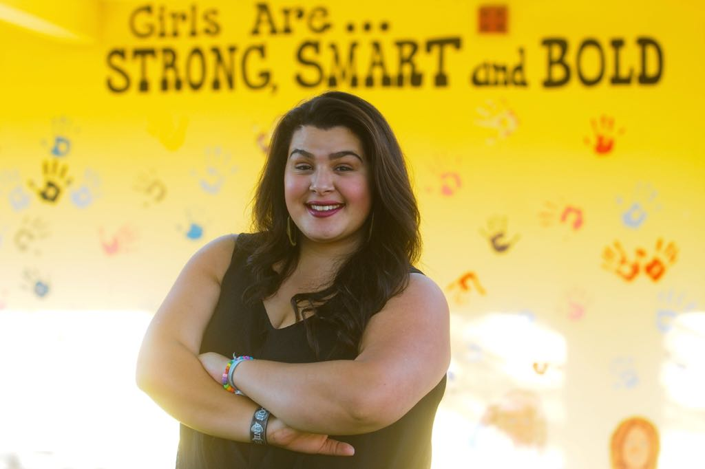 "Arianna Lopez credits her time at Girls Incorporated of Carpinteria with changing her life. ""It was so much fun being here,"" she says. ""The moment you walk in the door, you get to know different types of little girls and what they can teach you."""