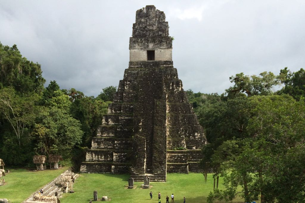 One of the more famous and extensive sites from the Maya civilization, Tikal was an important urban center in the pre-Columbian civilization.
