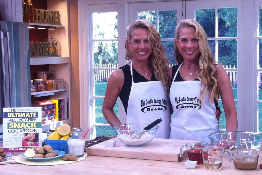 "Judi and Shari Zucker, aka ""the Double-Energy Twins,"" are the authors of six cookbooks with healthy-eating recipes — including their latest, The Ultimate Allergy-Free Cookbook."
