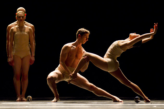 <p>Hubbard Street Dance Chicago will perform Tuesday at the Granada Theatre in Santa Barbara.</p>