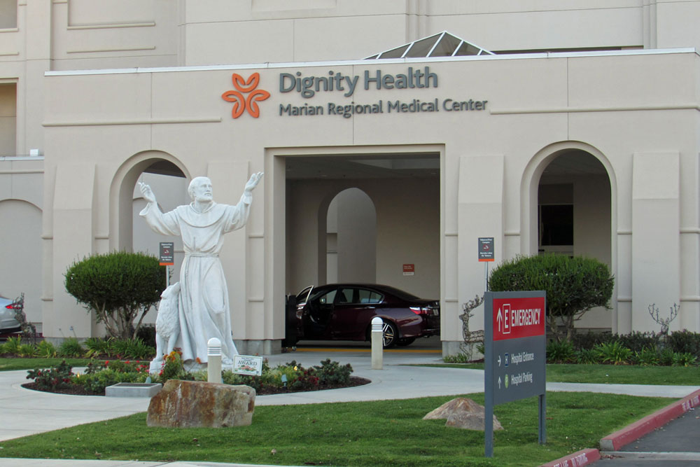 Dignity Health in merger talks