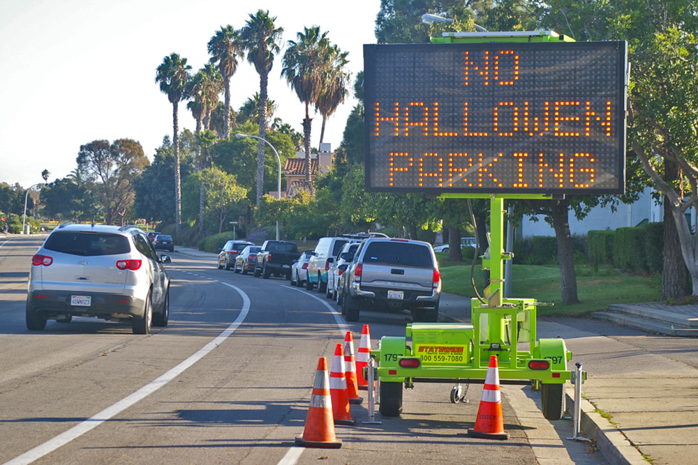 Parking on residential streets in western Goleta will be restricted this coming weekend as part of the effort to keep a lid on the Isla Vista Halloween celebration.