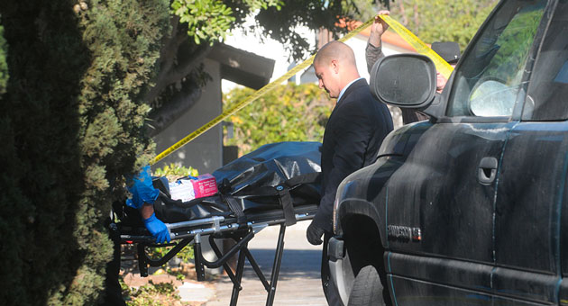 An apartment in the 500 block of West Los Olivos Street in Santa Barbara was the scene of an apparent domestic violence incident that left a woman dead, her husband arrested as a murder suspect and their daughter in the custody of Santa Barbara County Child Welfare Services. (Lara Cooper / Noozhawk photo)