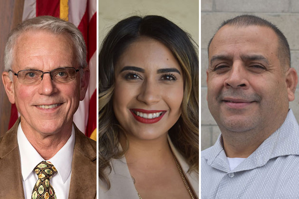 Candidates for the District 3 seat on the Santa Maria City Council.