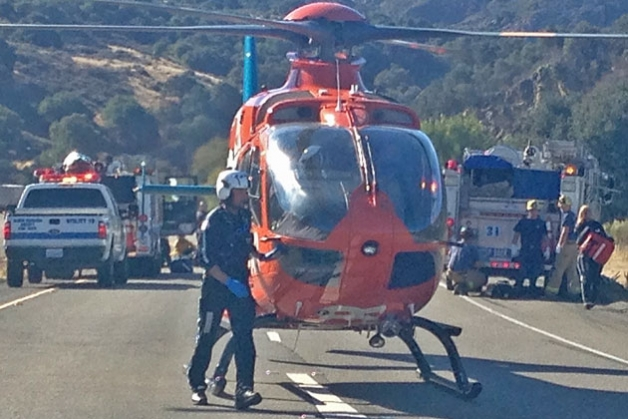 Ready to fly but call canceled. (Santa Barbara County Fire Department photo)