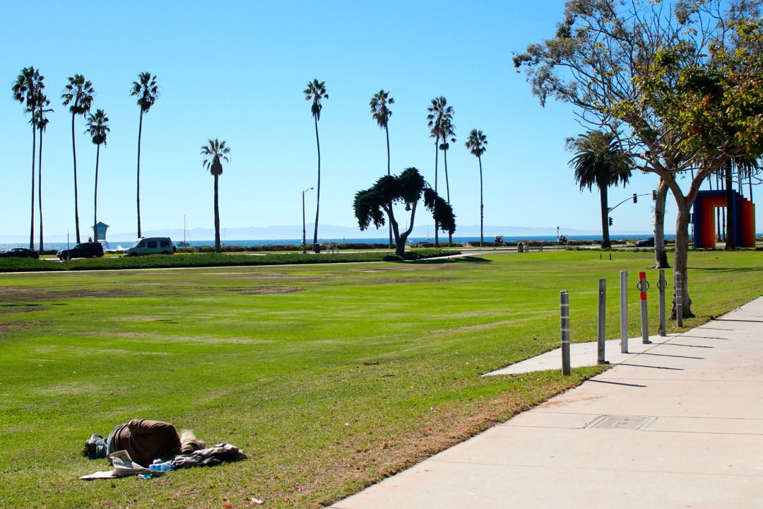 The Cabrillo Ball Field — where Cabrillo Boulevard, Milpas Street and Calle Puerto Vallarta come together along the Santa Barbara waterfront — may soon see some changes toward its west end, near the Chromatic Gate.