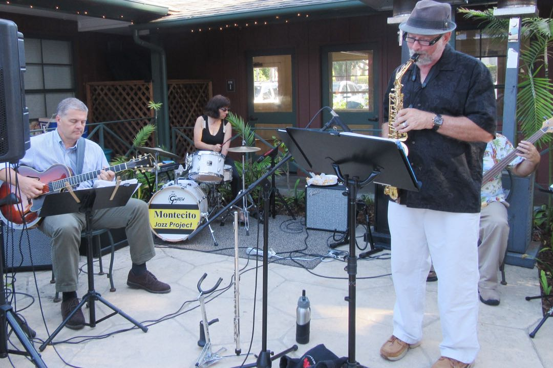 The Montecito Jazz Project provided musical entertainment.