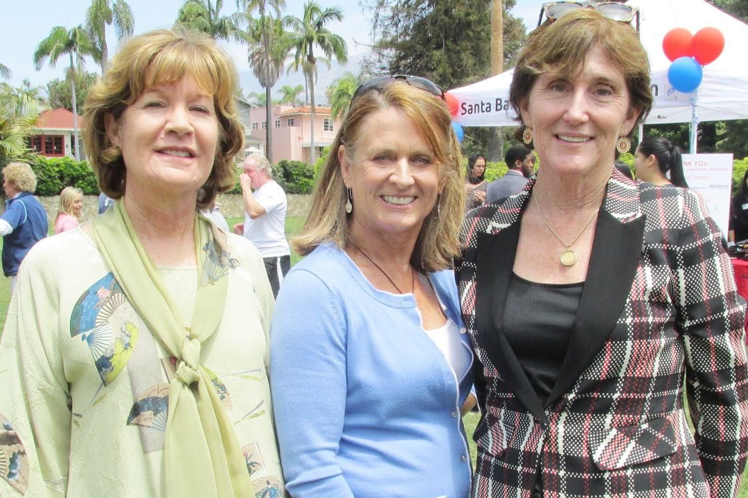 From left, Lynda Nahra, Pacific Western Bank regional president; Laurie Leighty, senior vice president of American Riviera Bank; and Pacific Western Bank senior vice president Catharine Manset.