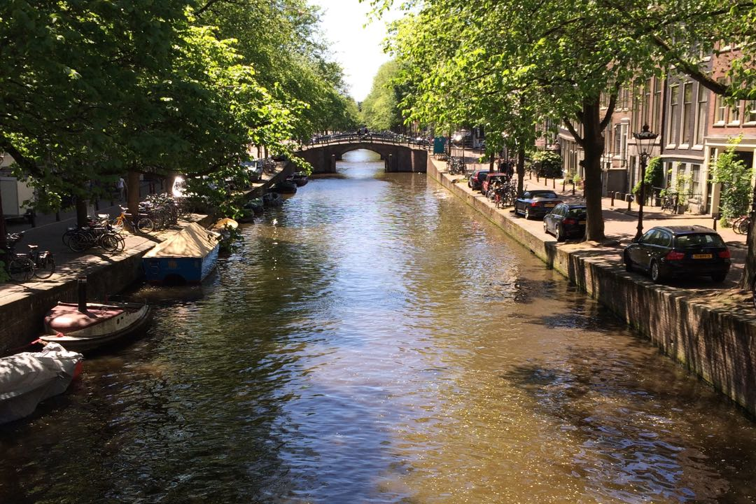 The canals that crisscross Amsterdam do more than serve as a transportation corridors. They're all part of an extensive system of water management tools that serve the city, which sits about 20 feet below sea level.