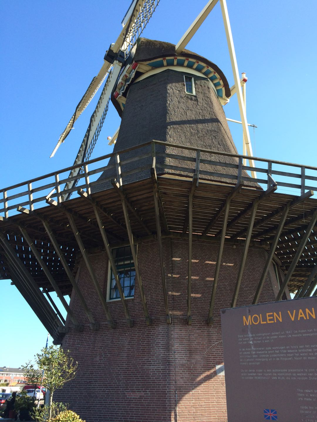 The Sloten Windmill can pump more than 60,000 gallons of water a minute.