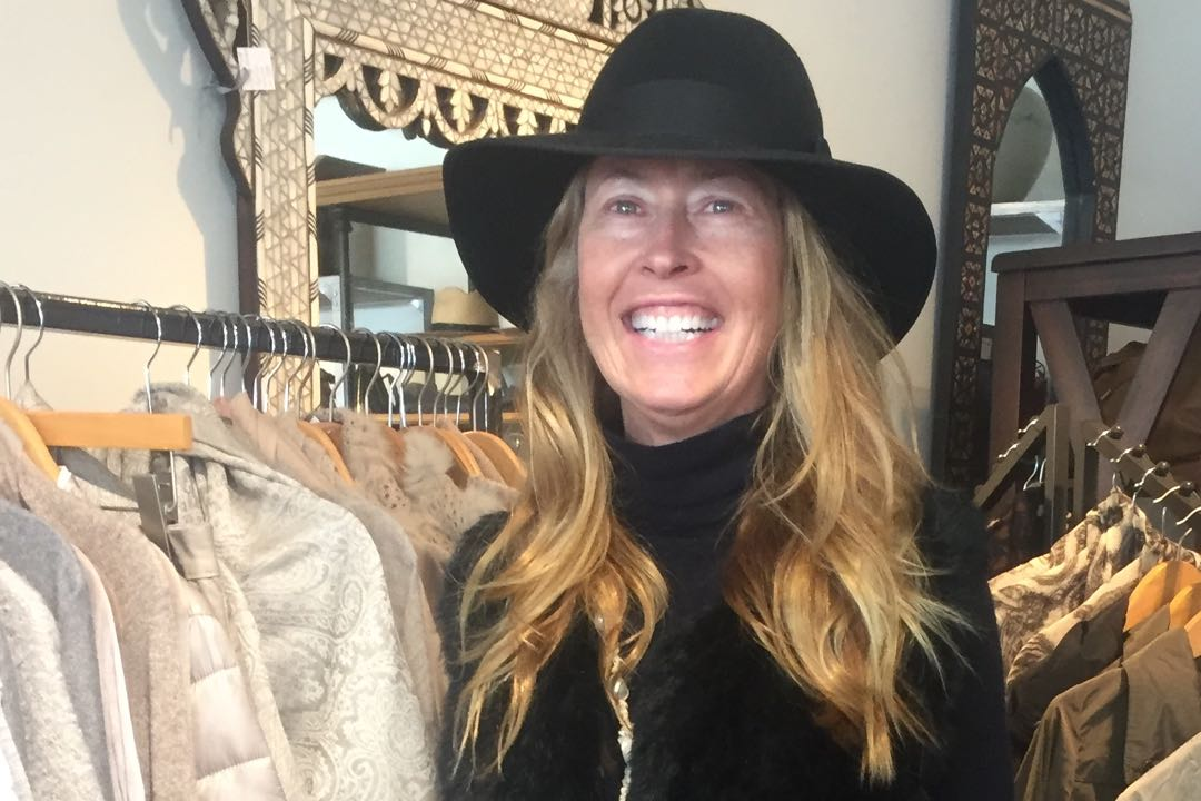 "Kimberly Phillips Hayes of Maison K extols the virtues of the fedora. ""It's a very manageable hat,"" she says. ""That has been a big seller for me."""