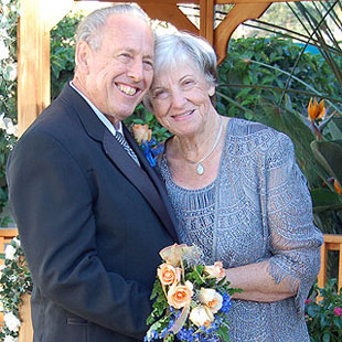 Audrey and Don Shultz say they owe their true love to True.com.