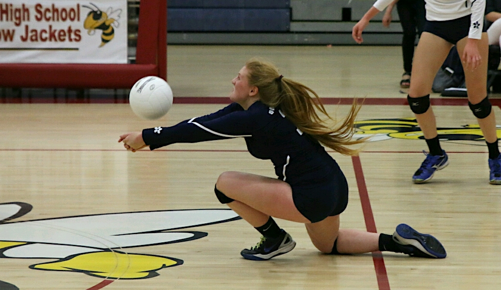 The passing and digging of libero Alison Minnich was key to the Chargers winning their CIF playoff opener.