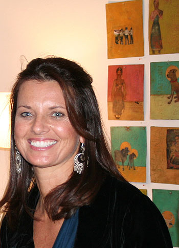 Having invested her life in art, Erika Carter says art is a worthy financial investment.