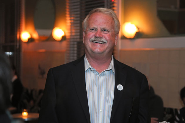 Randy Rowse was the night's top vote-getter and was easily winning re-election to the Santa Barbara City Council in District 2.