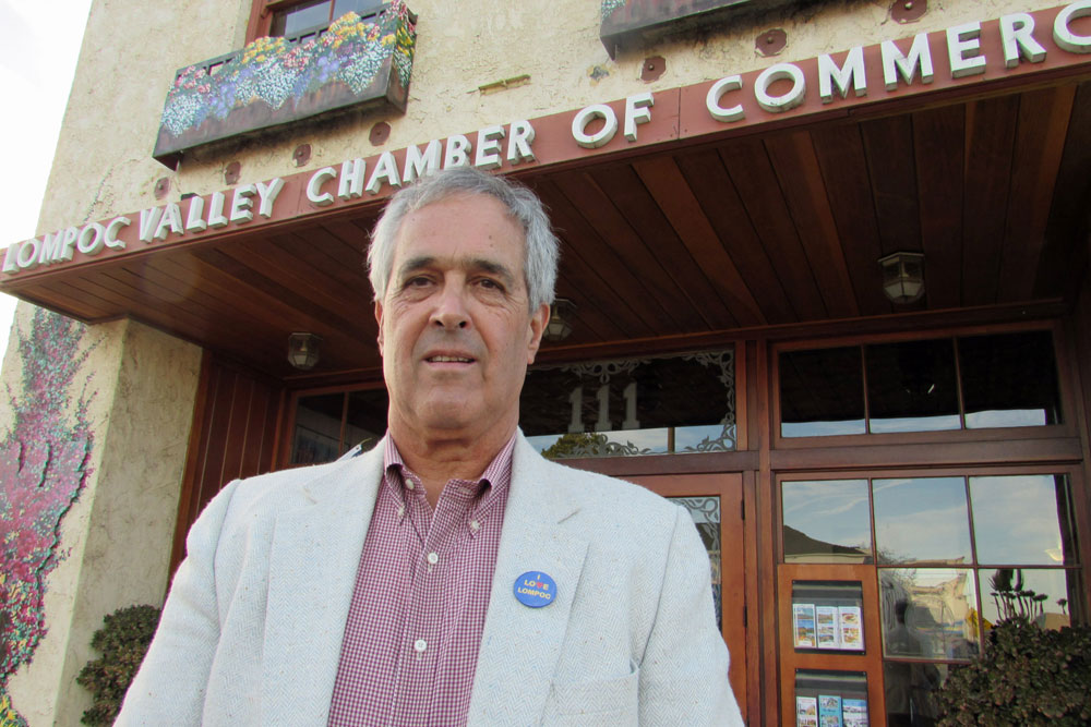 Lompoce native Ken Ostini is retiring at the end of the year as president and CEO of the Lompoc Valley Chamber of Commerce and Visitors Bureau.
