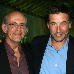 Christopher Lloyd and Billy Baldwin bring the star power. (Melissa Walker / Noozhawk photo)