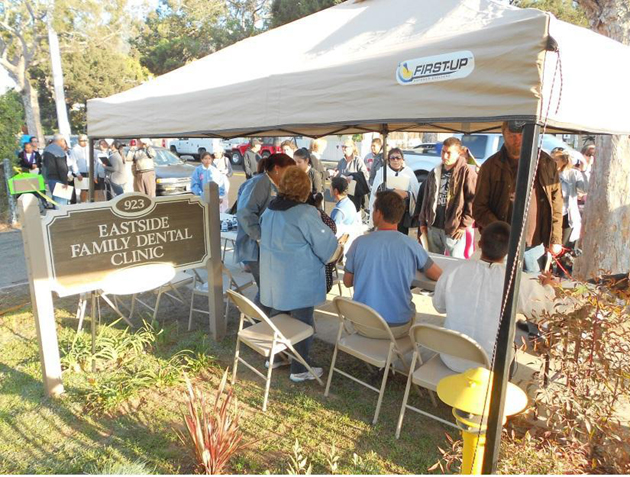 The Santa Barbara Neighborhood Clinics held a dental care day on Saturday, providing free dental services to the community. (Santa Barbara Neighborhood Clinics photo)