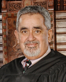 Judge Rogelio Flores (Luis Escobar photo / Reflections Photography)