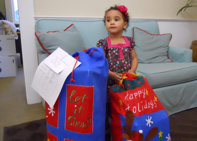 CALM has received more than 150 wish lists from families in need this holiday season. (CALM photo)