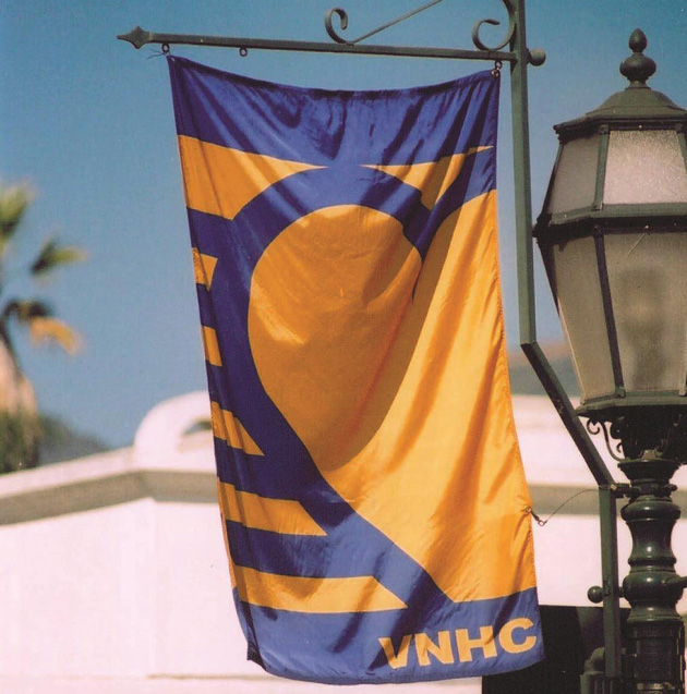 <p>Visiting Nurse &amp; Hospice Care&#8217;s blue and yellow flags will fly along downtown State Street next week in honor of National Home Health and Hospice Month.</p>