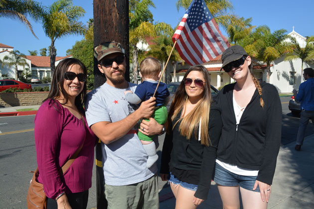 The Ruiz family, from left, Mercedes, Andrew, Uriah, Danielle and Kristin.