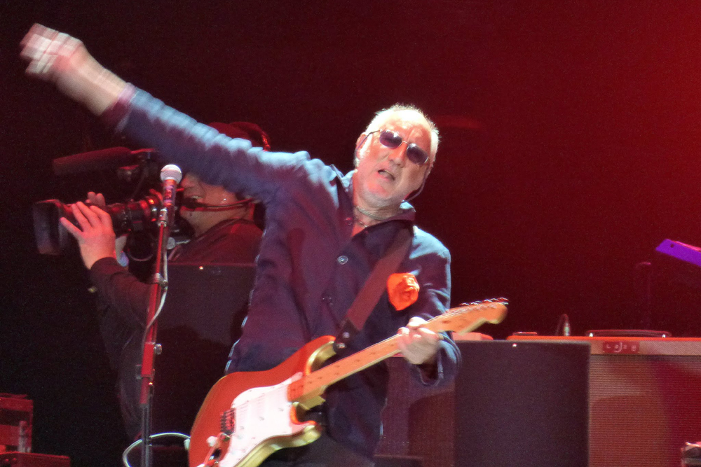 Pete Townshend and The Who perform their classic gems on the third day of opening weekend of the Desert Trip music festival.