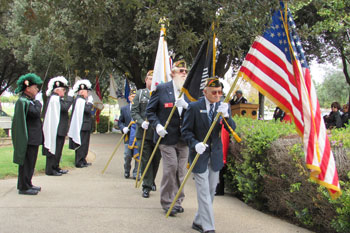 Tom Knott leads the Veterans of Foreign Wars Post 2521 ...