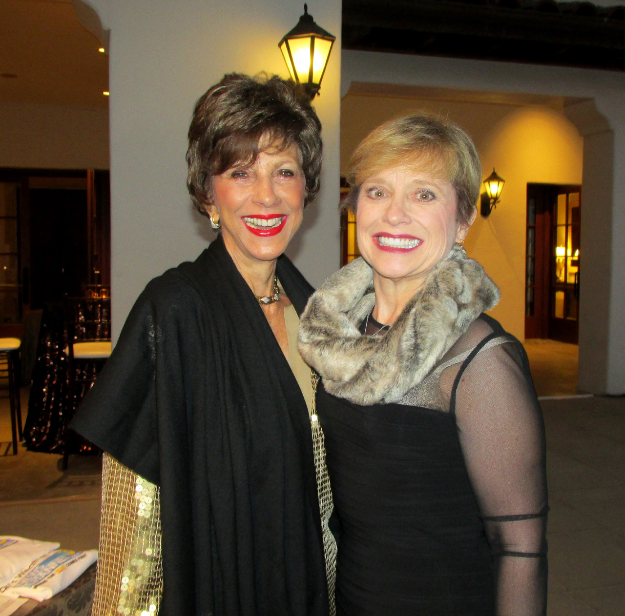 Barbara Dooley, left, and Debbie Crowe.