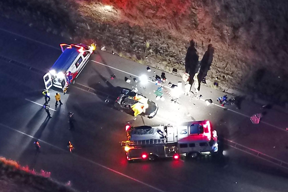Ricky Lawrence Long, 62, of Santa Maria was fatally injured late Saturday afternoon in a single-vehicle, rollover crash on Highway 154 near Santa Barbara. His name was released Monday by the Santa Barbara County Coroner's Office.