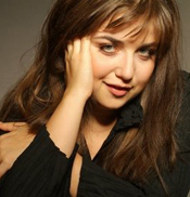 Russian composer-pianist Lera Auerbach will sit in with Camerata Pacifica for a performance Friday evening