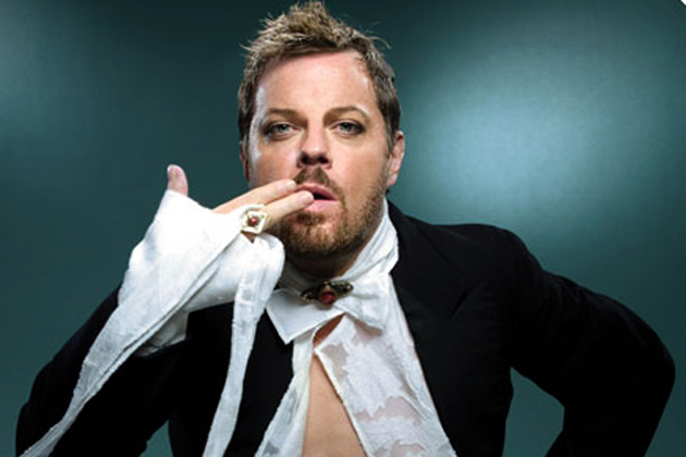 Eddie Izzard will perform stand-up comedy at his sold-out show at Campbell Hall on Saturday night. (Courtesy photo)