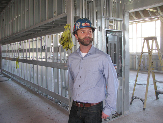 "<p>Dan Williams, director of Santa Barbara High School's Multimedia Arts &amp; Design Academy, helped design the floor plan for the new building. ""The opportunities here are going to be awesome,"" he said.</p>"