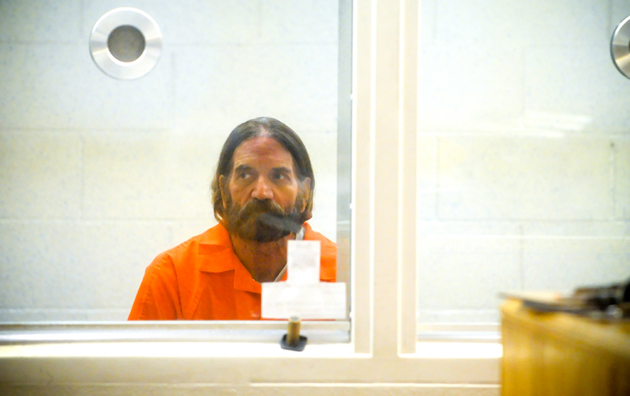 <p>Michael John Stinchfield, 55, who remains in custody on 13 felony counts, including sexual abuse and hate crimes, in connection with a Nov. 2 attack on two women in downtown Santa Barbara, makes a court appearance Thursday.</p>