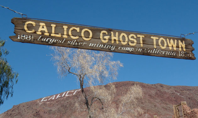 Calico, off California's Interstate 15, is not a destination. Rather, it's one of those places you happen to come upon serendipitously if you happen to be meandering through the Mojave Desert. (Judy Crowell / Noozhawk photo)
