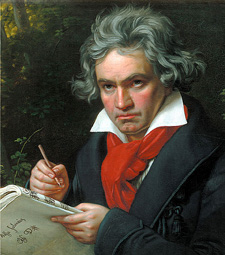 Beethoven the Thunderer is less important to us than Beethoven the poet.